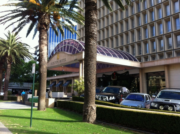 Duxton Hotel Perth - Front