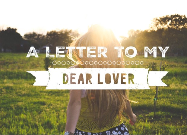 A letter to my dear lover valentines day