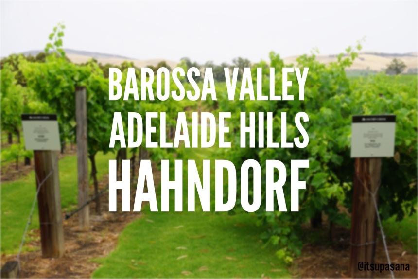 Barossa Valley Adelaide Hills Hahndorf