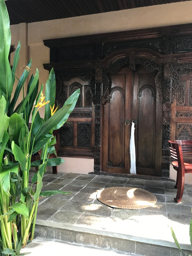 Bali - Bliss Sanctuary Canggu - Entry to my Room