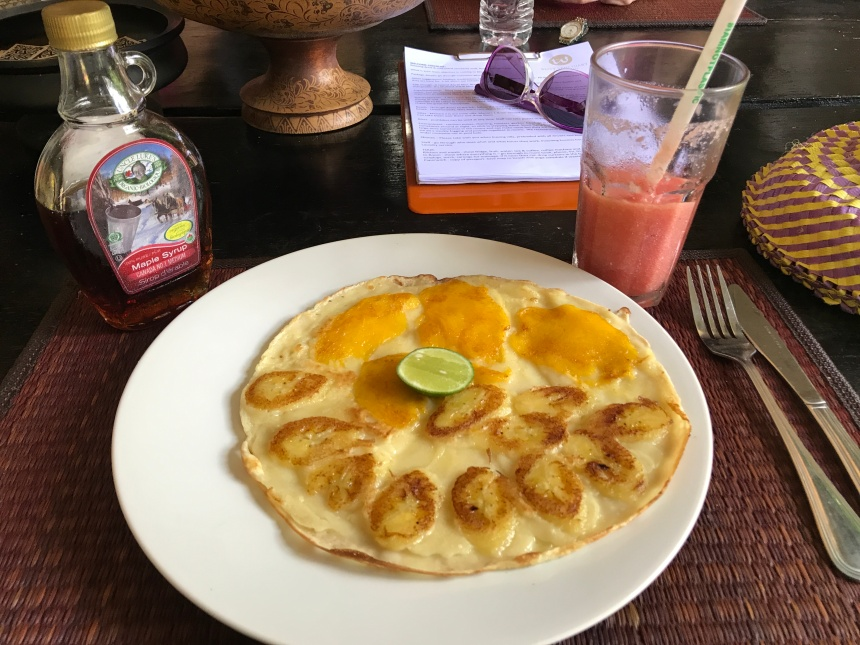 Banana and Mango Pancakes Bliss Sanctuary